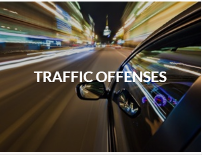 Traffic Offenses Attorney